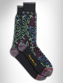 RINGER ALLOVER PAISLEY SOCK