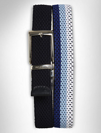 P&S Blue rev Stretch Belt