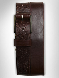 RG Penniman Emboss Leather Belt