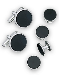 Jan Leslie Cuff Link & Stud Set