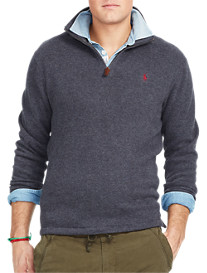 Polo Ralph Lauren® French Rib Half-Zip Pullover