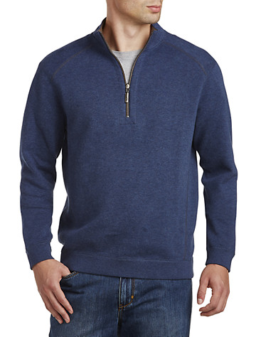 Tommy Bahama® Flip Side Reversible Half-Zip Pullover - ( Long Sleeve Knits )