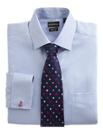 Rochester Tic Pattern French Cuff Dress Shirt