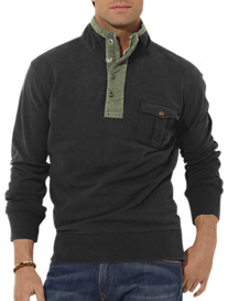 Polo Ralph Lauren® Patina French Terry Mockneck Pullover