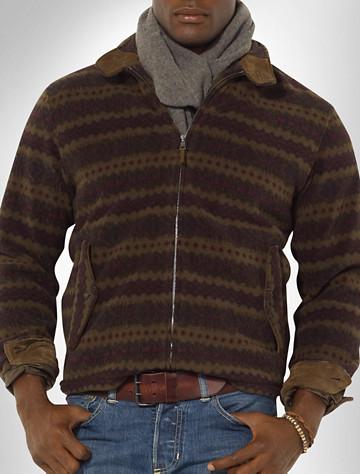 Polo Ralph Lauren® Full-Zip Fleece Jacket | Available in fairisle