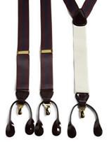 Rochester Stripe Convertible Suspenders