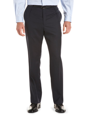 Men's Single Pleated Pants from Destination XL