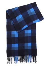 Duchamp Arizanta Check Wool/Angora Scarf