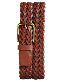 Tommy Hilfiger® Braided Leather Belt