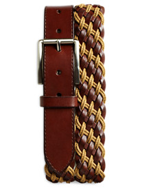 Rochester Braided Leather Belt