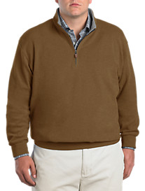 Peter Millar® Melange Quarter-Zip Knit Pullover