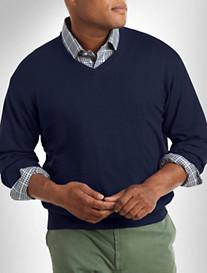 Peter Millar® Silk/Cotton/Cashmere V-Neck Sweater