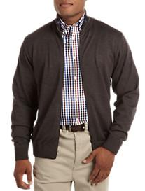Paul & Shark® Full-Zip Wool Sweater