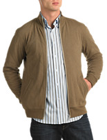 Façonnable Quilted Knit Jacket