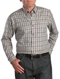 Cutter & Buck® Towers Plaid Sport Shirt