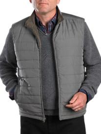 Cutter & Buck® Taber Reversible Full-Zip Vest