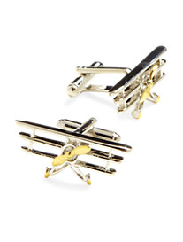 Link Up Airplane Cuff Links