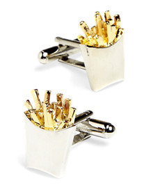 Link Up French Fries Cuff Links
