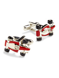 Link Up Race Cars Cuff Links