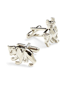 Link Up Bull Bear Cuff Links