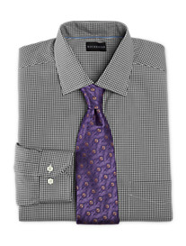Rochester Non-Iron Gingham Dress Shirt