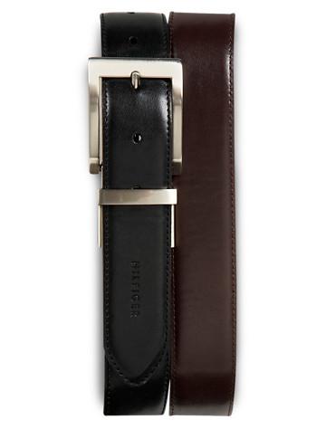Tommy Hilfiger® Reversible Leather Belt - ( Belts & Suspenders )