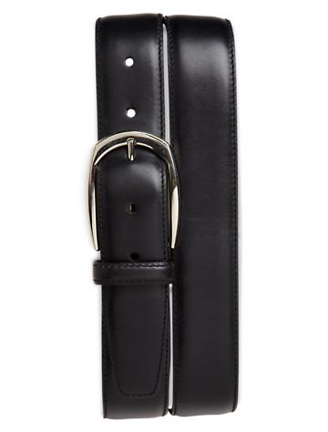 Brioni Hand-Polished Leather Belt