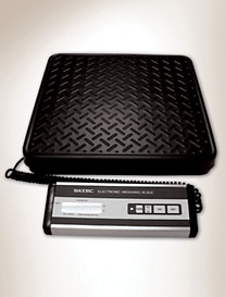 Siltec® 500-lb. Capacity Heavy-Duty Electronic Platform Scale