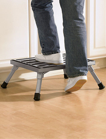 image of Safety Step® Folding Step Stool with sku228270 : safety step stool with handle - islam-shia.org