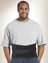 Med Spec® Back-n-Black Support Brace