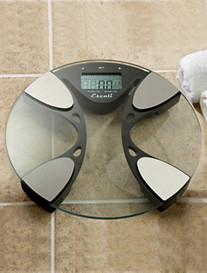Escali® Body Fat/Water Analyzing Scale