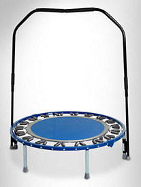 Needak® Hard-Bounce™ Folding Rebounder With Stabilizing Bar