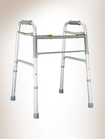 Lumex® Imperial Dual-Release X-Wide Folding Walker
