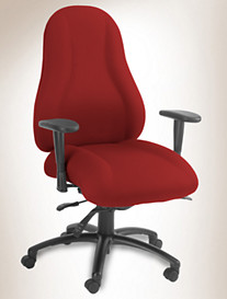 Ergocraft Atlas High-Back Chair With Arms