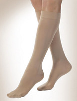 Jobst® Opaque for Women 15-20 mmHg* Knee-High Closed-Toe Compression Stockings