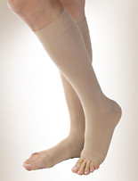 Jobst® Opaque for Women 20-30 mmHg* Open-Toe Knee-High Compression Stockings