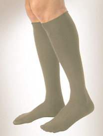 Jobst® for Men Casual 15-20 mmHg* Knee-High Compression Stockings