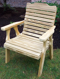 Creekvine Designs™ Treated Pine Crossback Chair