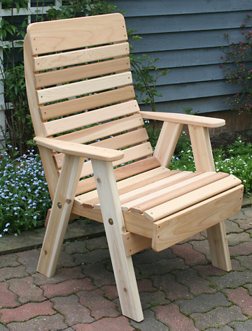 Creekvine Designs™ 2 Treated Pine Highback Glider  Outdoor from ...