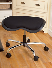 LivingXL® Padded Tractor Seat Stool