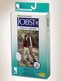Jobst® ActiveWear Unisex 20-30 mmHg* Knee-High Compression Athletic Socks