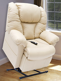 Pride® XXL Ultraleather™ Mobility Chair - Partial Recline
