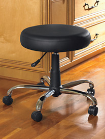 LivingXL® Adjustable Padded Stool