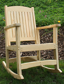 Creekvine Designs™ Treated Pine Rocker