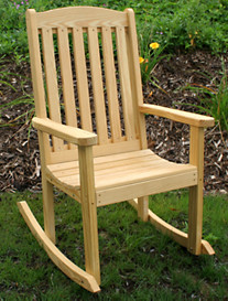 Creekvine Designs™ Treated Pine Highback Rocker