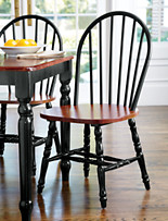 Extra-Wide Windsor Dining Chairs – 2 Pk