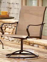 LivingXL® Swivel Outdoor Chair