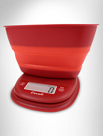 Escali® Collapsible-Bowl Kitchen Scale