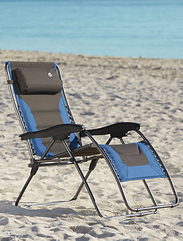 Two Tone Extra Wide Zero Gravity Chair