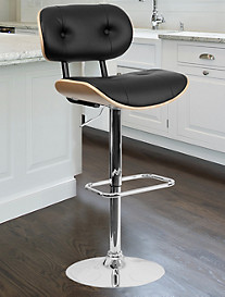 Bentwood Counter-Height Adjustable Bar Stool